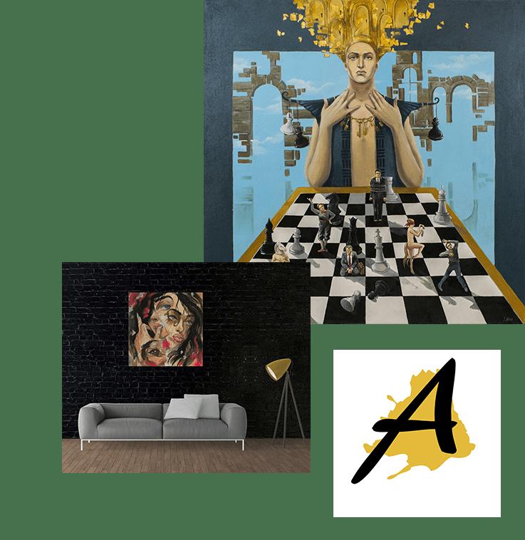 Onlinegalerie für Kunst