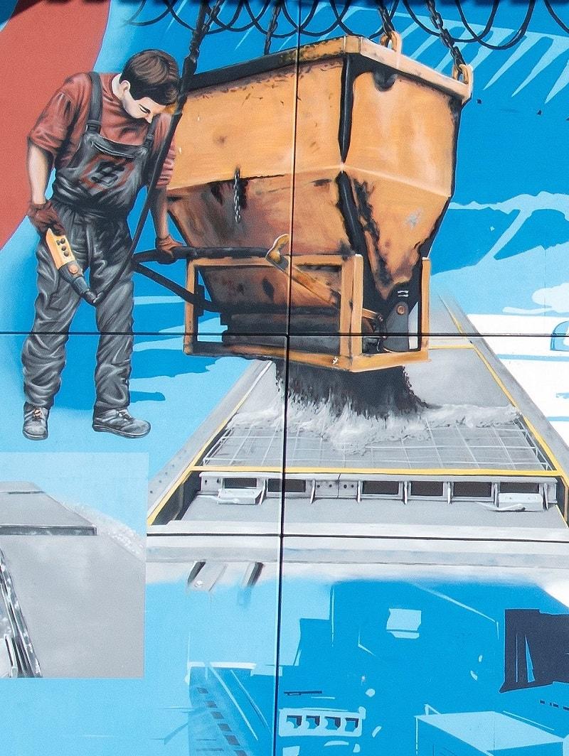 Detailansicht Graffiti Paderborn - Detailansicht - Edwin Bormann 0815 Atelier-min (1)