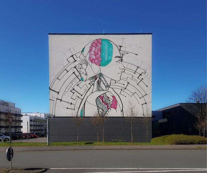 Graffiti Große Fläche - PRofi IT Motiv
