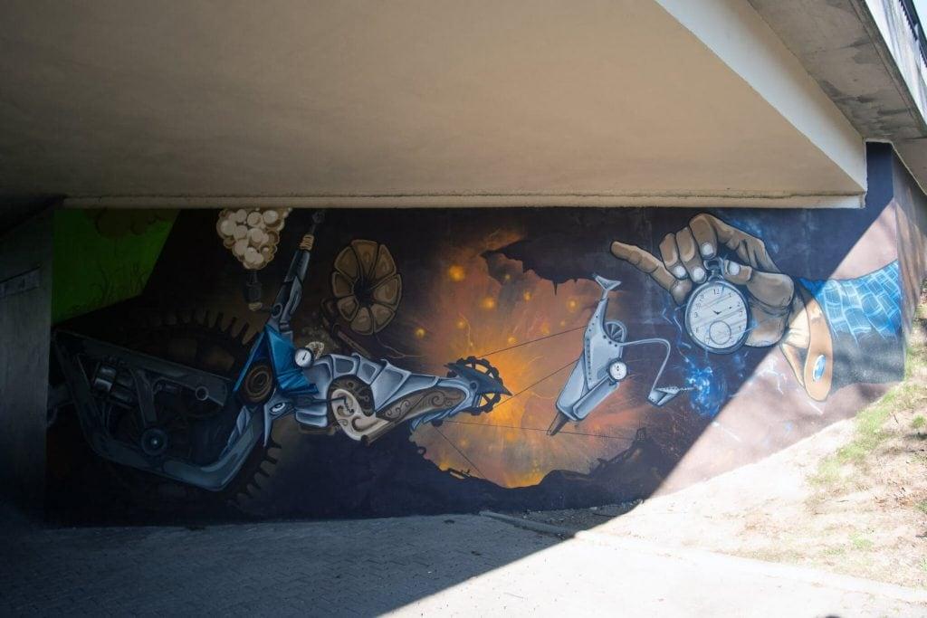 Wandgestaltung Graffiti - Streetart vom Paderborner Künstler Sero Art