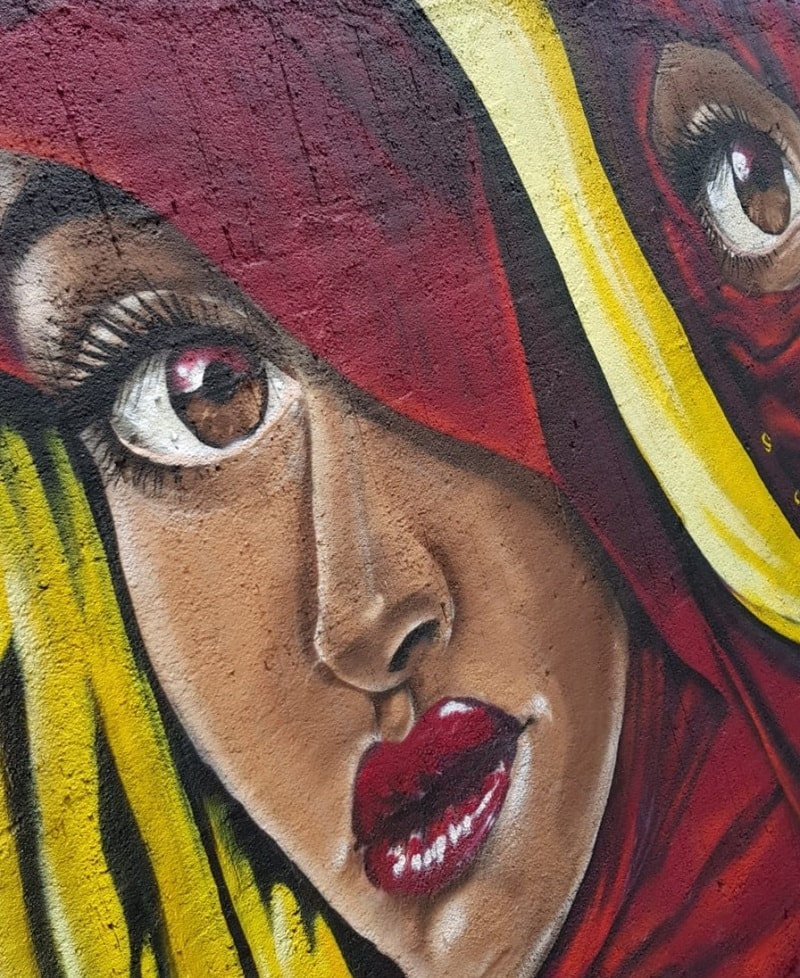 Wandgestaltung Busdorfmauer - Graffiti Paderborn-min